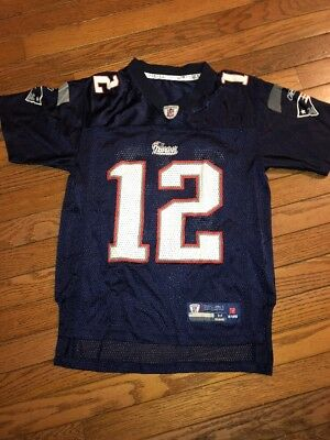 tom brady jersey youth medium