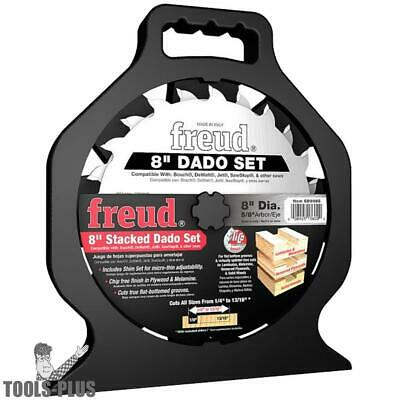 "Freud SD208S 8"" Stacked Dado Set ""PRO DADO"" TITANIUM CARBIDE New"