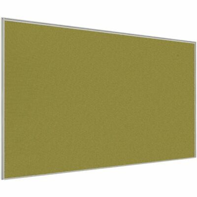 Stilford Professional Screen 1800 x 1250mm White and Green