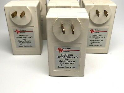 Graham Stetzer Model US01 Lot of 7 Filter Dirty Electricity RF Line Noise Reduce