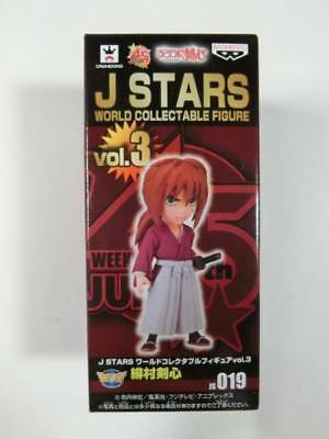 Rrurouni Kenshin J-Stars World Collectable Figure 3 KENSHIN HIMURA Jump Anime