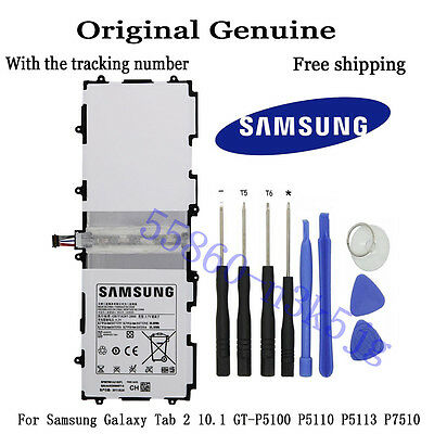 Genuine Battery SP3676B1A for Samsung Galaxy Tab 2 10.1 GT-P5100 P5110 P5113 P75