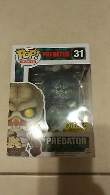 Funko Pop Predator Clear Bloody Hot Topic Exclusive!