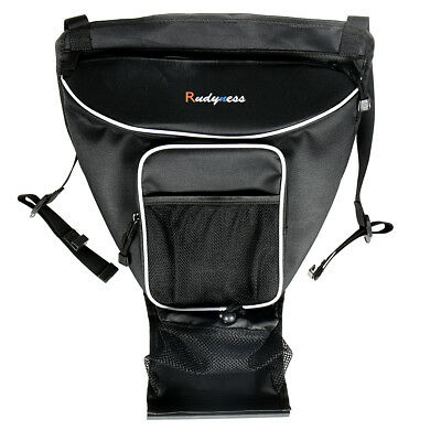 Black Cab Pack Holder Storage Bag For UTV Ranger RZR XP 900 1000 570 800 Parts