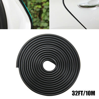 10m Car Door Boot Edge Protector Trim Black Molding U Shape Strip Moulding Guard