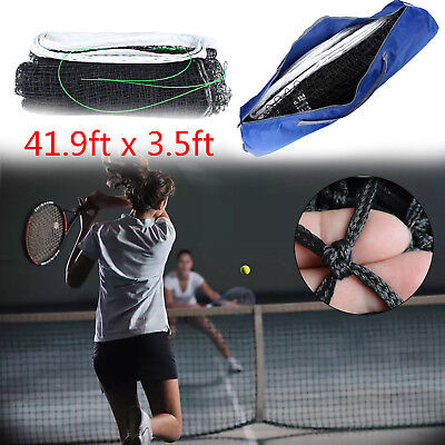 12.8x1.08M Full Size Tennis Court Net Standard Replacement Net Cable Included AU