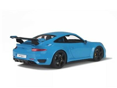 New 1/18 GT Spirit 2015 Porsche 911(991) RUF RTR Turbo Blue 991pcs