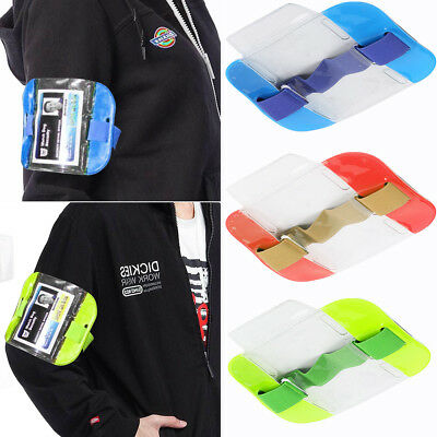 New Sign Security ID Armband Badge Holder Doorman Bouncer Orange Green Blue