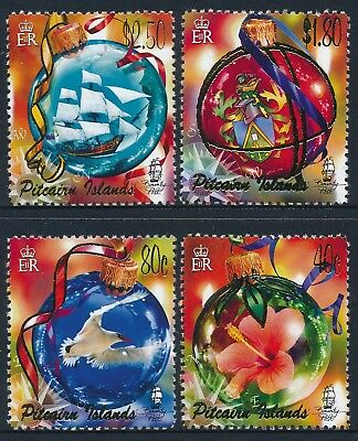 2005 Pitcairn Island Christmas Set Of 4 Fine Mint Mnh