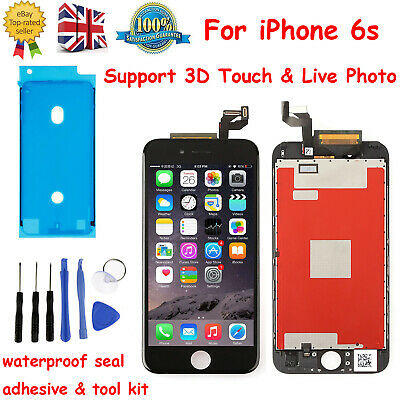 For iPhone 6s LCD & Digitizer Screen Replacement Genuine Original OEM IC Black