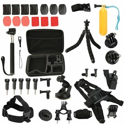 35 in1 Head Chest Mount Monopod Accessories Kit For GoPro Hero 2 3 4  Camera EK
