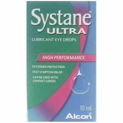 Systane Ultra- gouttes oculaires lubrifiantes 10ml 1 2 3 6 12 Packs