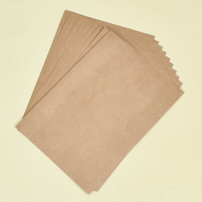 10pcs Brown 29.6x21cm A4 Kraft Paper Card Board Recycled Envelope Party Deco
