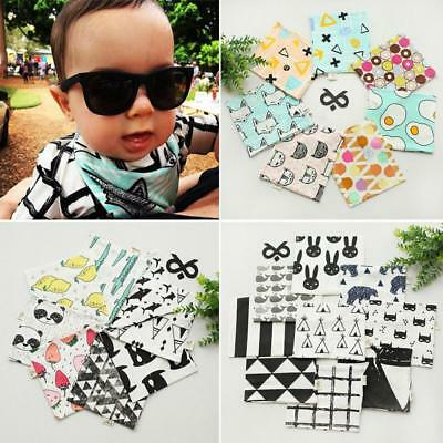Girls Boys Fruit Cartoon Print Shawl Baby Scarf Neck Wraps Neckerchief