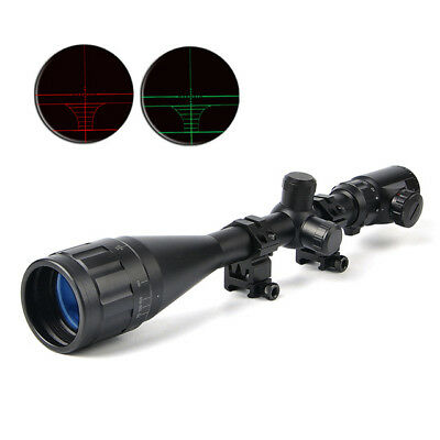 BUSHNELL 6-24X50 AOE Riflescopes Hunting Red Green illuminated Crosshair Reticle