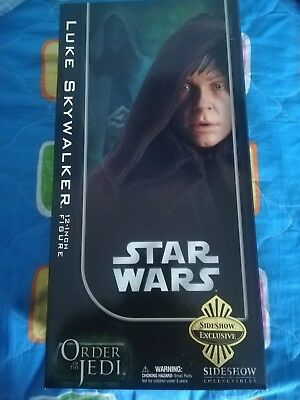 Sideshow Star Wars Jedi Luke Skywalker Exclusive Hot Toys The Clone Wars Action