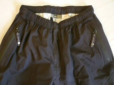 REI Rainwall Elements Rain Pants Kids L (12/14) $50 Black Great Condition