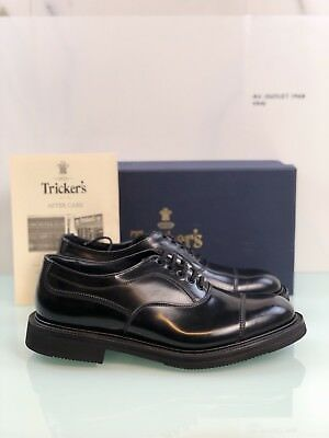 Scarpa Tricker's Uomo Black Bodibindel Oxfords Nera In Pelle , Tricker's Uomo