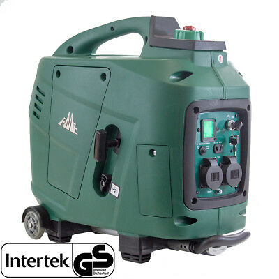 FME INVERTER GENERATOR - SF 2600E - 2,8KW Rollen + Digital Display + E-Start