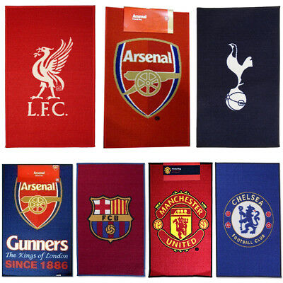 Football Team Rug - Chelsea, Barcelona, Arsenal & More New 100% Official