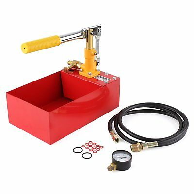 Water Pipe Line Installation Heating System Leakage Pressure Tester Pump Kit 5L