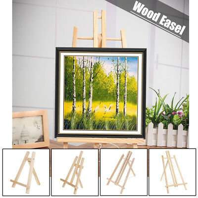 4 Type Wood Art Draw Easel Advertisement Exhibition Display Shelf Holder Stand