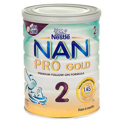 """NEW Nestle - Baby Food """"Nan Pro Gold 2"""" - Nutrition For 6 Month Olds - 800g"""
