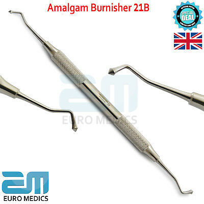 Dental Amalgam Ball Burnisher 21B Restorative Shape Westcott Instruments Tools
