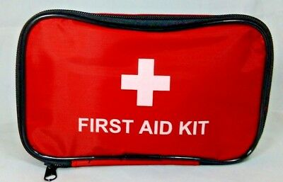 45 Piece First Aid Kit Bag Medical Emergency Kit Travel Home Car Taxi Milestone