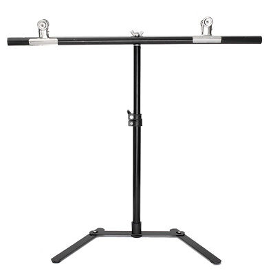 Background Stand Kit White Photo Studio  Backdrop Background With- 2- Clips Setb