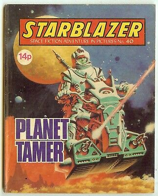 Starblazer 40 (1981) mid-high grade copy - Jaimie Ortiz artwork