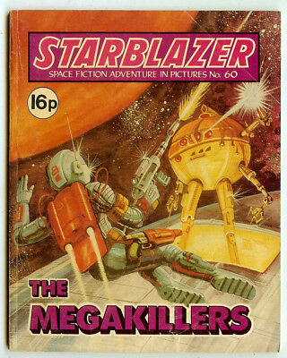 Starblazer 60 (1981) mid-high grade copy - Carlos Pino artwork