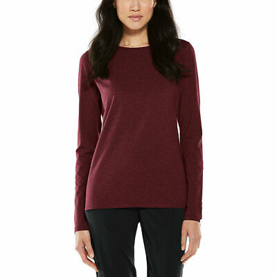 Coolibar UPF 50+ Women's Long Sleeve Everyday T-Shirt
