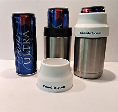 Michelob Ultra Slim Can, Adapter Only, fits Yeti style Stainless koozie, coozie