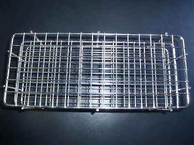 ⭐️  STAINLESS STEEL Wire Test Tube Rack 90 Places New In Box NOS ! K7 ⭐️