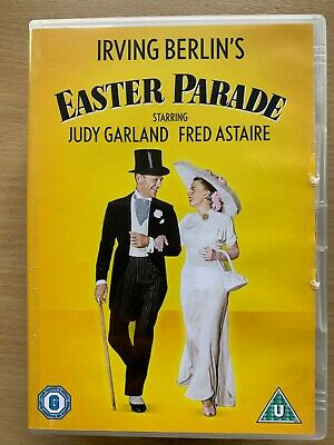 Easter Parade DVD 1948 Hollywood Musical Classic with Judy Garland Fred Astaire