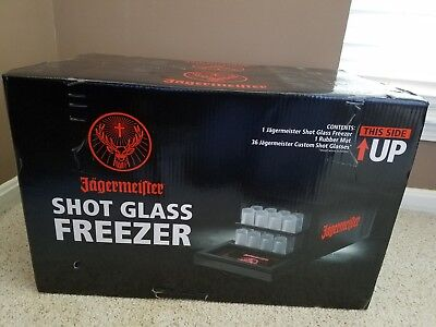 Jagermeister: Brand New Shot Glass Freezer Never Opened Box!!