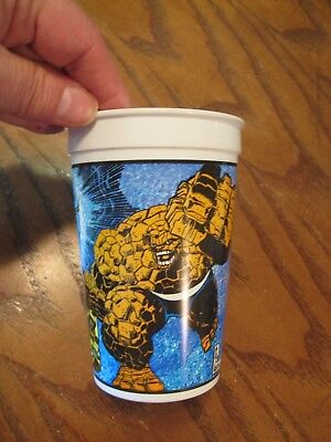 Pizza Hut - Super Heroes 1994- Plastic Cup - The Thing