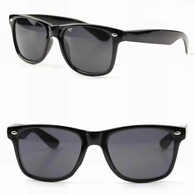 UNISEX Sunglasses Wayfare CLASSIC Black Frame 100% UV MEN WOMEN Retro Aviator