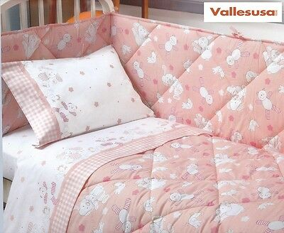 Quilt Baby, winter duvet Bumpers Crib/Cot VALLESUSA, TOMMY