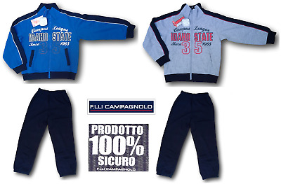 Campagnolo. Suit Winter for Child, Dynamic, 8Q12643. Sweatshirt Zip + Trousers