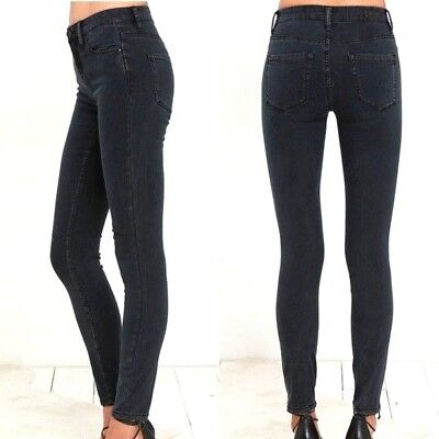 5bc3de6726bc NEW BLANK NYC Denim High Rise Crybaby Skinny Jeans Black Size 28 $88 ...