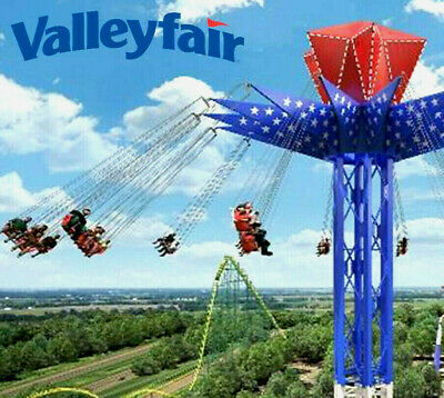 Valleyfair Theme Park Tickets $38 A Promo Discount Tool +Meal And Parking