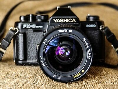 Yashica FX 3 Super with 2 excellent lenses