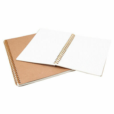 Notebook Journal Diary Book Dot Grid Notepad Memo Kraft Paper Cover A5/B5 New