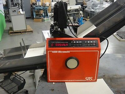 Pierce SN 4000 Micromatic with Heavy Duty Numbering Heads, Video