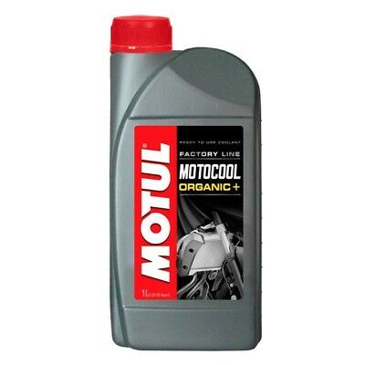 Motul Motocool Factory Line Ready To Use Motorcycle Coolant 1 Litre Organic+