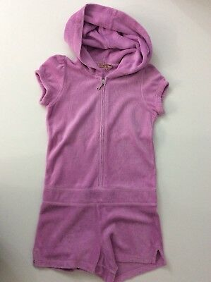 Juicy Couture Jumpsuit, Playsuit, Age 6 Years, Purple, Vgc