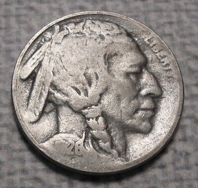 1926-S Buffalo Nickel. Good. #5B654