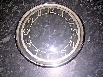 CLOCK  PARTS, BEZEL  WITH  CHAPTER  RING   x